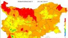 ГОРЕЩО! Екстремален индекс за пожароопасност е в сила за 12 области