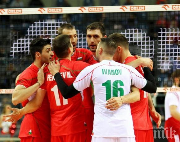 Волейболните национали ще играят срещу Финландия в плейофите на Евро 2017