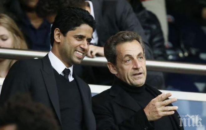 Никола Саркози коментира трансфера на Неймар в любимия му ПСЖ