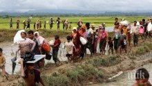 Шокиращо преселение! 60 хиляди мюсюлмани рохинги избягаха от Мианмар в Бангладеш