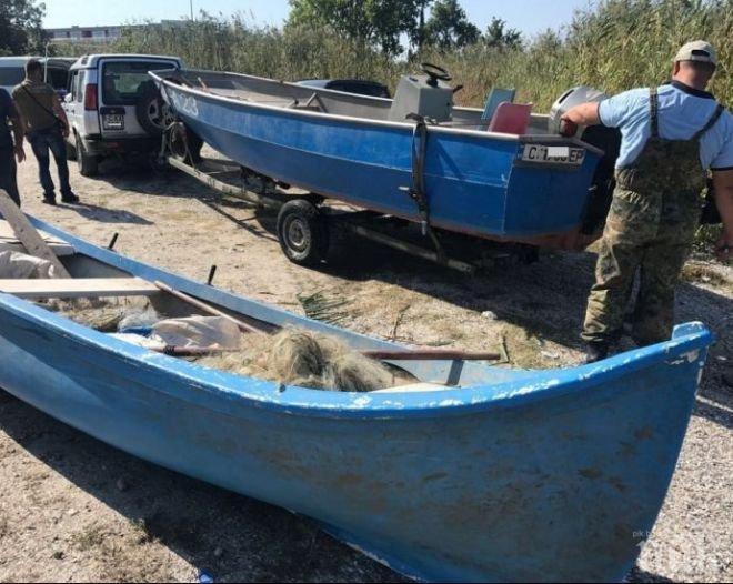 ИАРА удари бракониери в езерото Вая: Хванаха трима с незаконен улов (СНИМКИ)