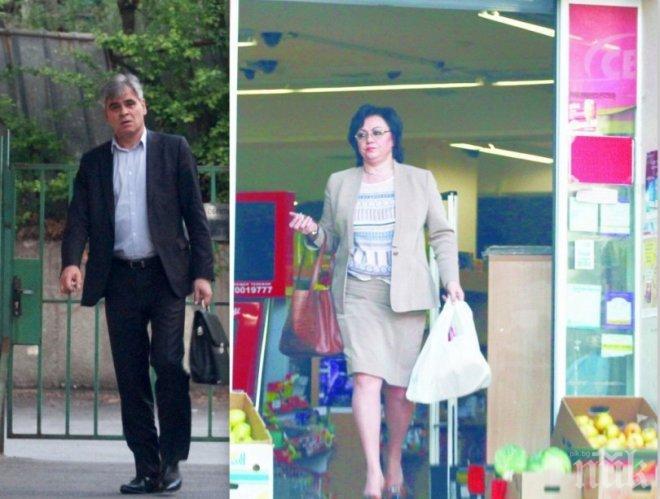 ЕКСКЛУЗИВНО В ПИК! Корнелия Нинова с шофьор и на пазар - лидерката на БСП се вози навсякъде като ВИП дама (ПАПАРАШКИ СНИМКИ)