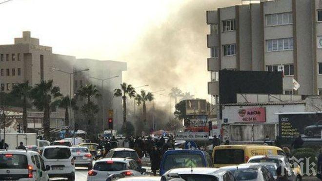 Осем души са ранени при експлозията в Измир