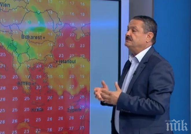 Топклиматологът Георги Рачев: Захлаждането идва в края на септември