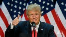"""Тръмп: Военните действия срещу Северна Корея не са """"неизбежни"""""""