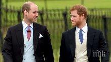 Любопитно! Вижте как са изглеждали принцовете Уилям и Хари в първия им учебен ден (СНИМКИ)