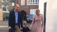 Принц Джордж тръгна на училище, ще изучава балет и дебати