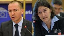 ПЪРВО В ПИК! Екшън в Брюксел с подкупи за родни граничари! Джамбазки с остри думи към евродепутатка, обидила България: Представете доказателства или се извинете