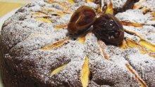 Какаов кекс с фурми