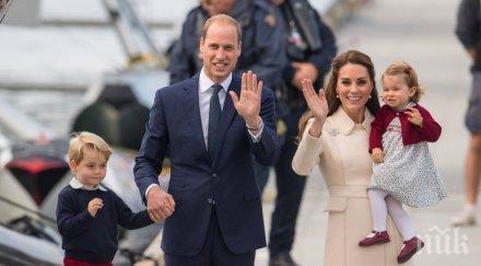 Букмейкъри пуснаха залози за името на третото дете на Кейт и Уилям