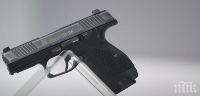 """От концерна """"Калашников"""" представиха нов пистолет"""