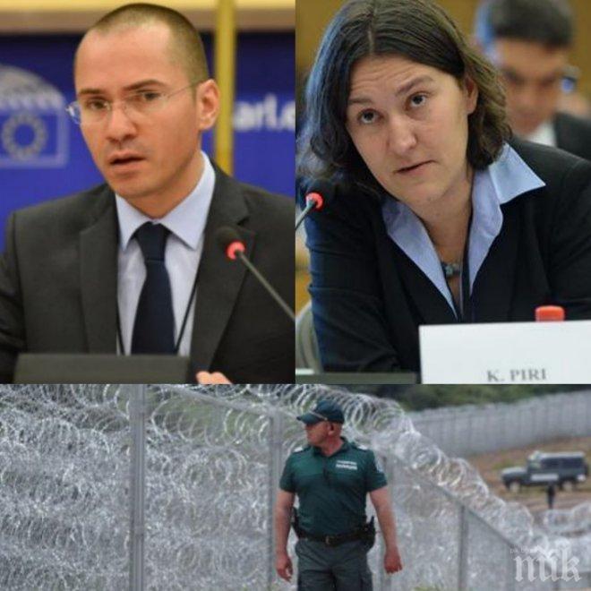 ПЪРВО В ПИК! Скандалът в европарламента се разраства - холандската депутатка, обидила родните митничари, отговори на Джамбазки