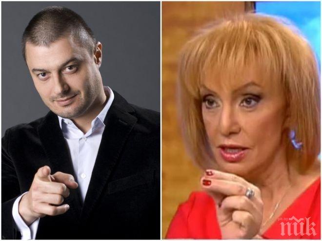 СКАНДАЛЪТ КИПИ! Бареков пред ПИК: Люба Кулезич е метафора на баджак журналистиката - хората от слугинажа, които опростачиха професията! Във Франция ги наричат куртизанки