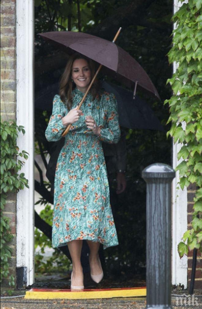 Майката на принцеса Кейт ще помага по време на бременността