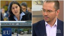 ДУЕЛЪТ ПРОДЪЛЖАВА! Джамбазки скочи на холандската депутатка: Да дойде и види - на всяка бензиностанция турците оставят свинщина и Кербала!