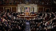 """Конгресът на САЩ одобри помощ за пострадалите от урагана """"Харви"""" на стойност 15 милиарда долара"""