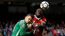 Манчестър Сити разби Ливърпул, набута им петица