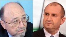 """ИЗВЪНРЕДНО! Александър Йорданов изригна срещу Румен Радев: Мнението му за 9 септември е """"поръсено с много лъжа""""…"""