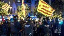 Полицията в Каталония изземва урни и агитационни материали за незаконния референдум за независимост