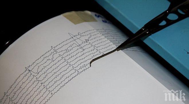 Трус! Земетресение 5,6 по Рихтер разлюля Япония