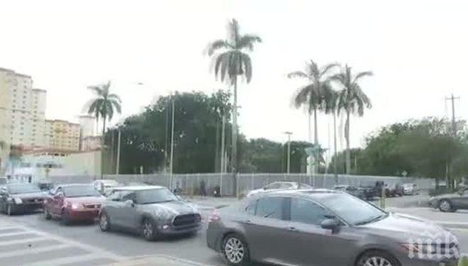 """В очакване на """"Ирма""""! Над половината бензиностанции в Южна Флорида останаха без гориво"""