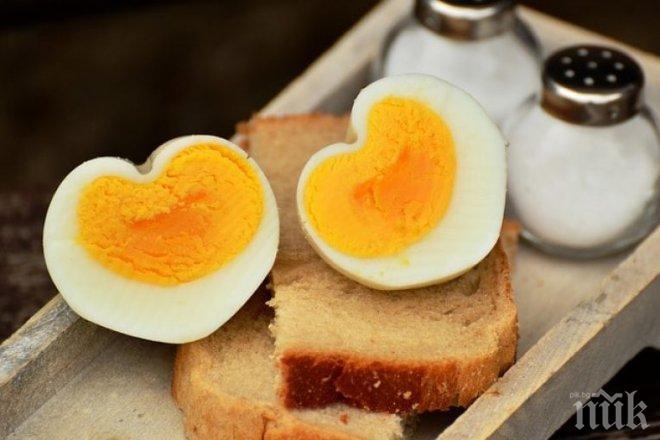 ОТКРИТИЕ! Яжте яйца за тънка талия