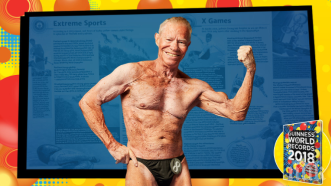 Американец е най-възрастният културист в света (СНИМКИ)