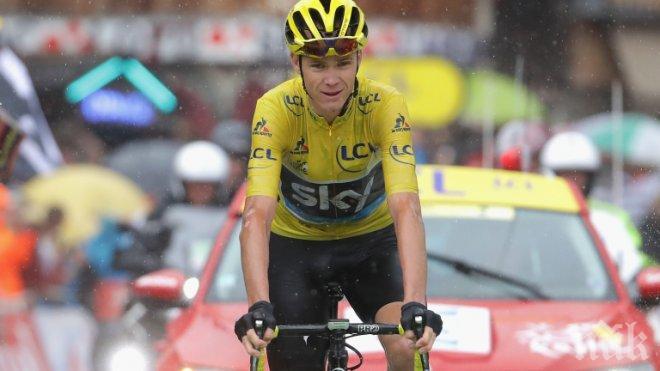 СУПЕР ПОСТИЖЕНИЕ! Коронясаха колоездача Крис Фрум в Мадрид