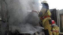 БЪРЗА РЕАКЦИЯ! Тежка техника потушила пожара във Велинград