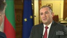 Президентът Румен Радев даде да се разбере, че няма да подпише указа за назначаването на Георги Чолаков за шеф на ВАС