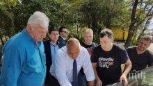 """Премиерът Бойко Борисов: Изграждаме алтернативен път, свързващ Околовръстното на Пловдив с пътен възел """"Скобелева майка"""""""