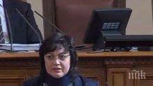 ИЗВЪНРЕДНО В ПИК TV! Корнелия Нинова проговори за катастрофата: Ударът беше силен, не е имало спирачен път