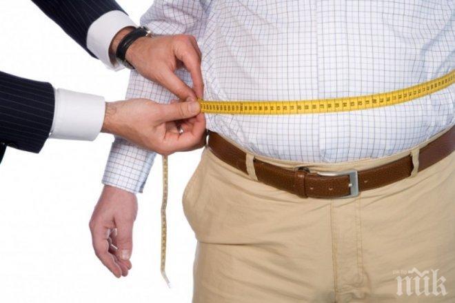 Мъжете със затлъстели жени са в риск от диабет