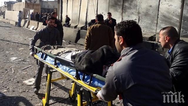 СМЪРТ! Двоен атентат в Ирак, 37 души са загинали