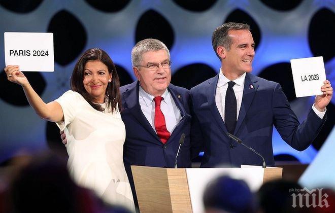 Президентът на МОК: Париж и Лос Анджелис се отнасят отговорно към правото, което получиха да приемат Олимпиади