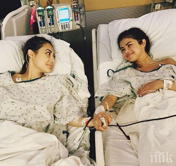Трансплантираха бъбрек на Селена Гомес!