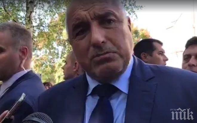 ПЪРВО В ПИК! Бойко Борисов за мераците на Слави да влиза в политиката: На думи е лесно (ВИДЕО)