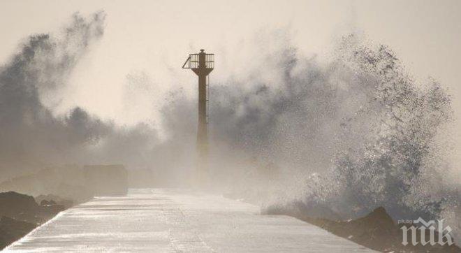 Мощен тайфун докара потоп в Япония