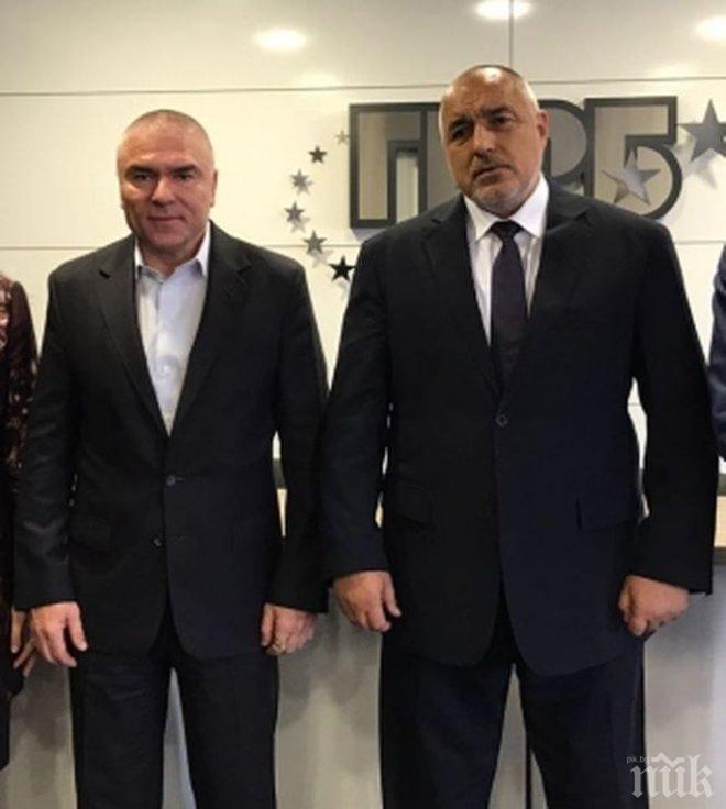 ИЗВЪНРЕДНО! Борисов разкри какво е правил Марешки в централата на ГЕРБ и за какво се е натискал!