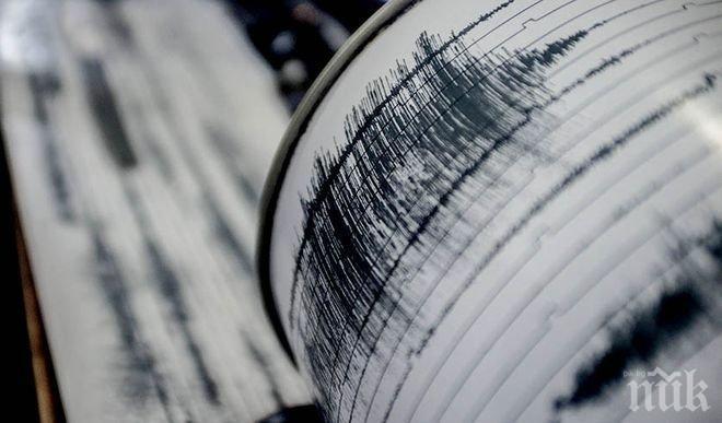Трус! Земетресение с магнитут 4,6 по Рихтер бе регистрирано в Япония