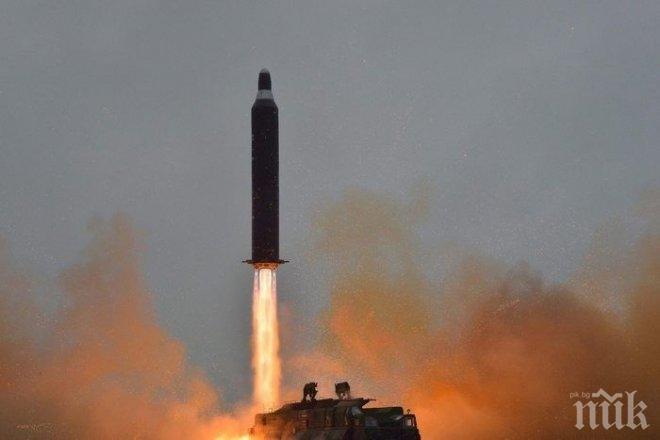 Американското разузнаване е засякло възможна подготовка от КНДР за нов ракетен тест