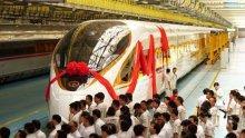Китай пуска най-бързия влак стрела в света