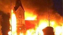В Чили подпалиха три християнски църкви