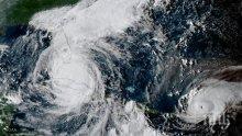"""Бурята """"Мария"""" се превърна в ураган първа степен"""