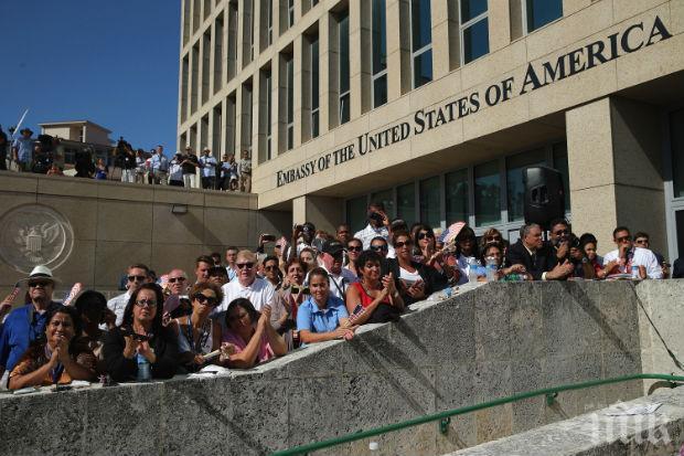 ОСТРА РЕАКЦИЯ! САЩ закриват посолството си в Хавана заради акустичните нападения срещу дипломати