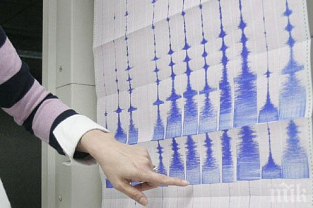 Земетресение бе регистрирано в Егейско море