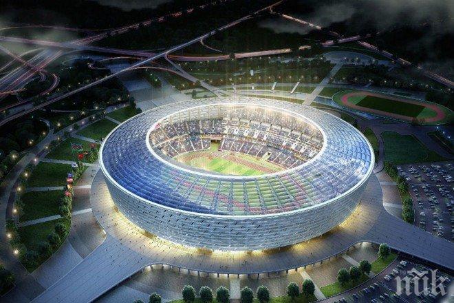 Баку приема финала на Шампионската лига през 2019 година