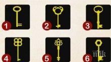 Забавен тест с ключове