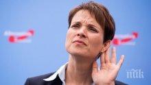 Фрауке Петри удържа победа в избирателния си район в Саксония