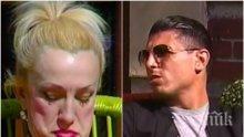 """""""ТИХА ЛЮБОВ""""! Даниел Златков закова Сашка Васева: Гнусна си, честно! Може ли да ти падне леща в ци..те и да си я изядеш! Футболистът нагруби певицата с... мастия!"""